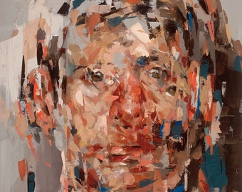 The Reversal, Original Oil Painting