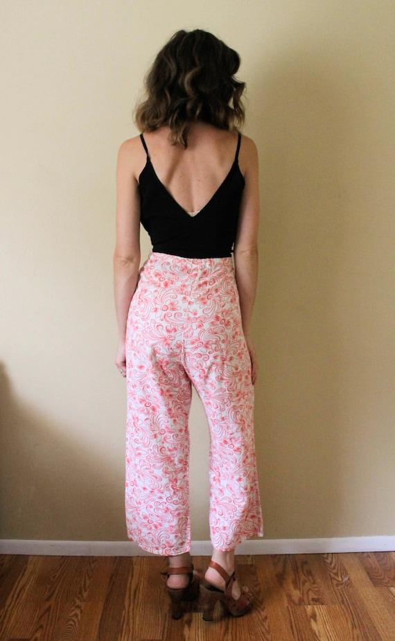 1930s Lounge Pants / 1930s Beach Pajamas Pants / … - image 5
