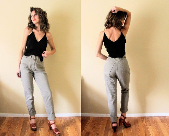 1990s Jeans / 90s Jeans / 1990s 90s High Waisted H