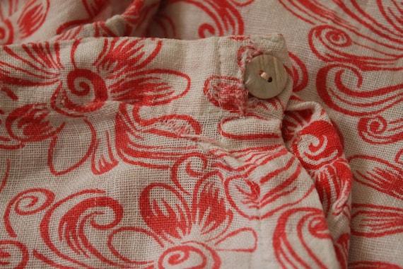 1930s Lounge Pants / 1930s Beach Pajamas Pants / … - image 7