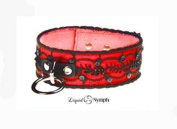 Leesh Mistress Jacket Top P.S Red