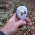 Shamanic Rattle - Hummingbird Totem - Free Shipping