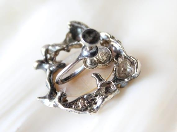 Rare Vintage Mermaid Earrings - image 2