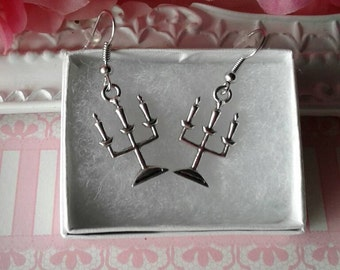 Candle Earrings,Candles,Candlestick, Candle Holders