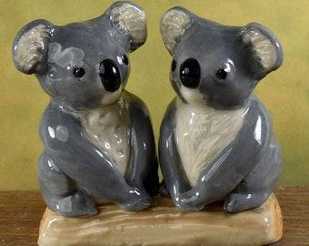 Koala wedding cake topper, Australian pottery by Anita Reay AnitaReayArt ceramic koala bear figurine Australian wedding cake topper