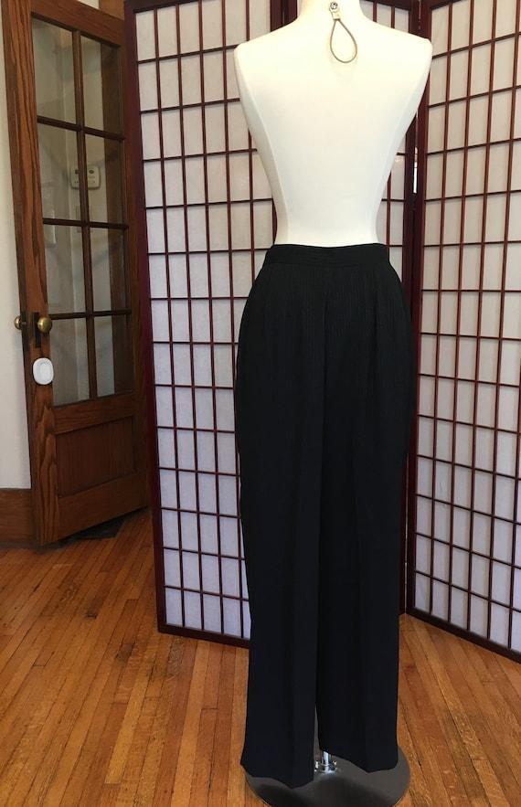 1980s Albert Nipon Women's Tuxedo Suit - image 8