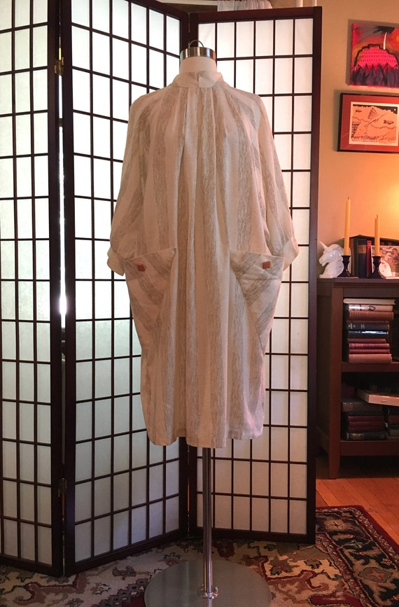 1980s Avant Garde Cotton Dress