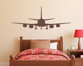 Airplane decal | Etsy