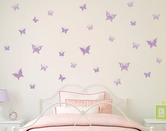 Butterfly Wall Decor Etsy