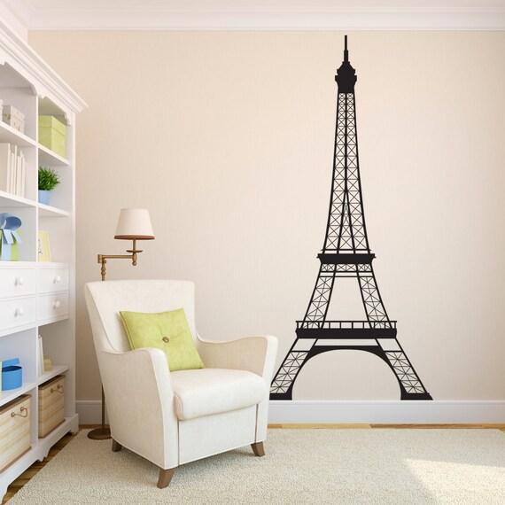 Paris Bedroom Decor For Girls Personalized Vinyl By Vinylwritten Vinyl Wall Art Decals Decal Wall Art Sticker Wall Art