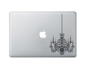 Chandelier Laptop Decal - Macbook decal - Chandelier decal - Laptop Sticker