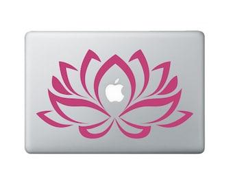 Sticker sur le Macbook fleur portable Decal 2 - sticker fleur de Lotus - Lotus