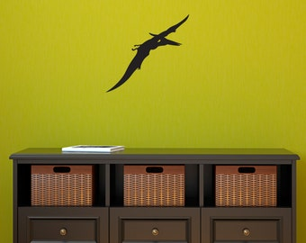 Pterodactyl Wall Decal - Dinosaur Wall Sticker - Dinosaur Art