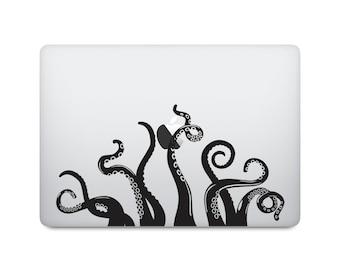Octopus Tentacles Macbook Decal - Octopus Laptop Decal - Laptop Sticker