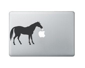 Horse Laptop Decal - Horse Macbook Decal - Laptop Sticker
