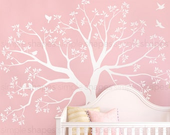Organic giant family Tree Wall Decal Tree Wall Decal Sticker