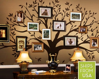 8cebe24460 Wall Decals Kids Wall Decals Nursery Family Tree Decals for Home and Baby  Nursery