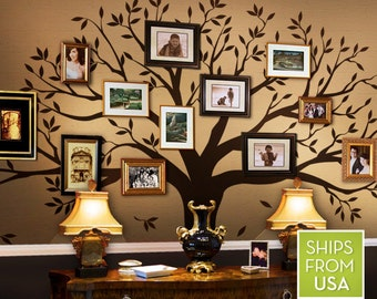 Wall Decals Living room Wall Decals Bedroom Family Tree Decal - Family Tree Wall Decal - Family Room decal - tree decal