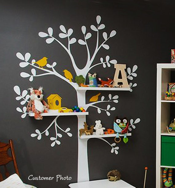 Wall Decals Nursery The Original Shelving Tree Decal