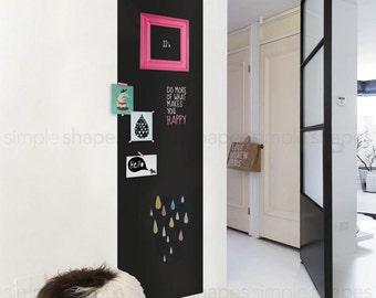 Chalkboard Wall Decal, Large Chalkboard Sticker, Rectangular Chalkboard Decal, Chalkboard Door Decal, Door Sticker