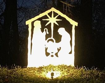 Nativity Set, Outdoor Christmas Decoration, Nativity Set, Large Outdoor Nativity Scene