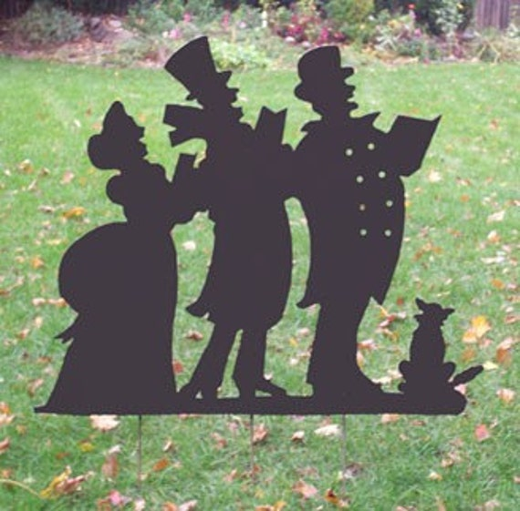 Christmas Carolers Yard Decorations: Christmas Carolers Lawn Decorations
