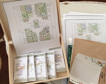 the garden design in a box beginners box is taliored to your garden design.