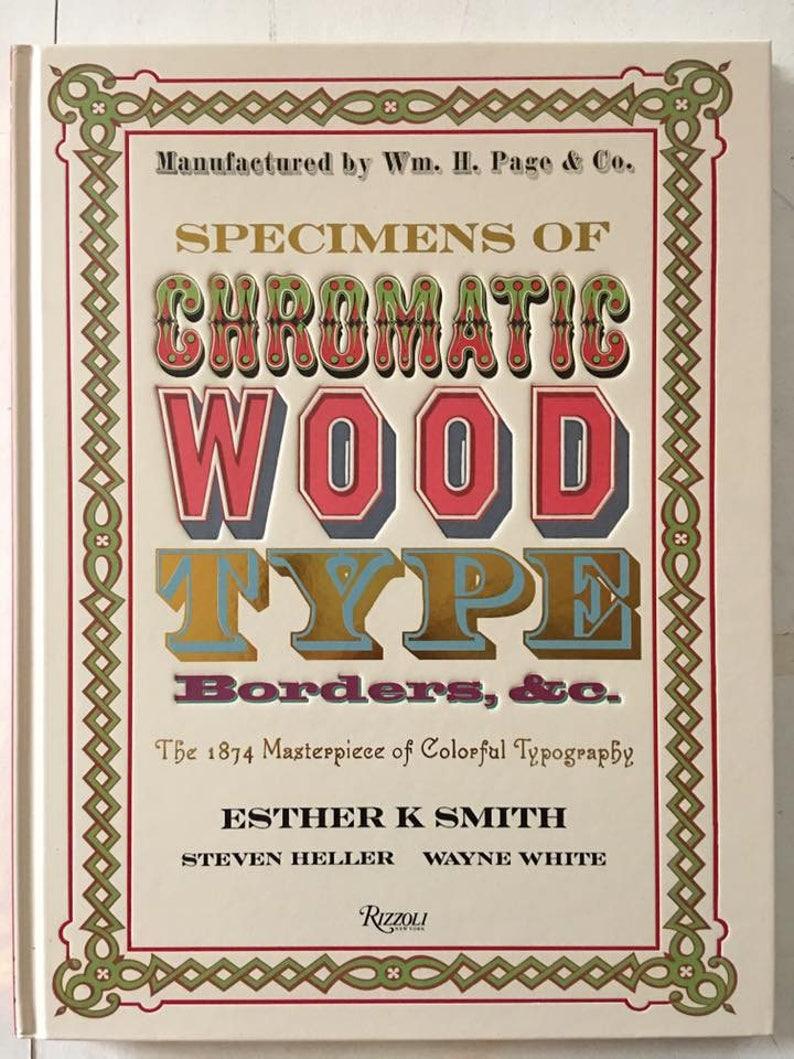 Specimens of Chromatic Wood Type: The 1874 Masterpiece of image 0