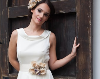 Alternative Wedding Dress, Simple Wedding Dress, Wedding Dress, Modern Wedding Dress, Bohemian Wedding Dress, Made To Measure