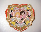 Antique Whitney Valentine Card - from an Estate