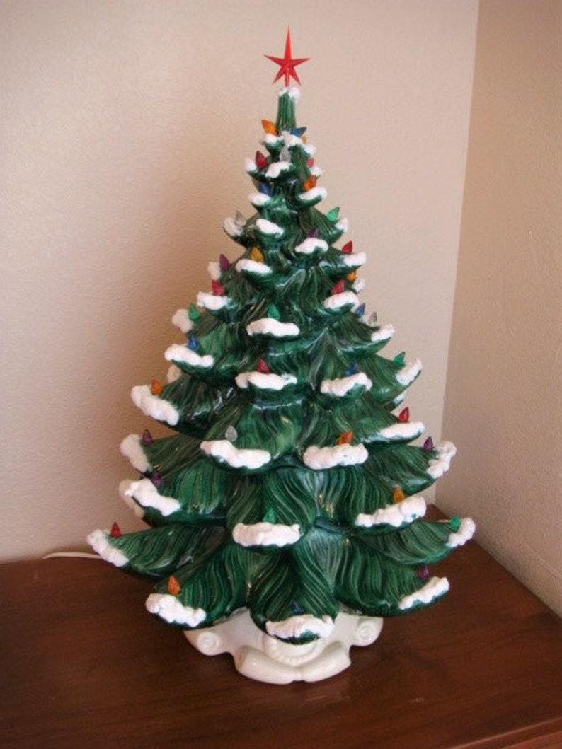 Ceramic Christmas Tree Atlantic Mold 24 Inches Tall