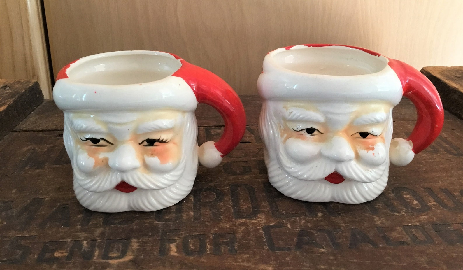 3D Santa Claus Mugs Page Three