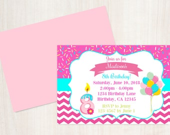 8th Birthday Invitation Eight Is Great Printable Invite 8 Year Old