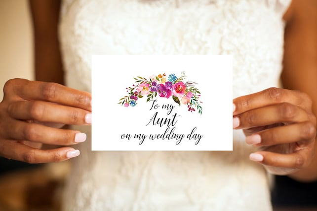 To Our Daughter On Her Wedding Day Mother Of The Bride Card