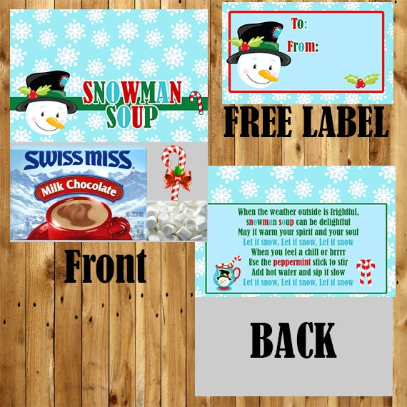 photograph regarding Snowman Soup Free Printable Bag Toppers named Goods related toward Snowman Soup / Snowman Bag Topper / College