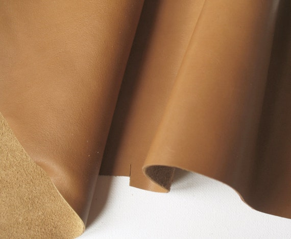 Assorted Sizes Chocolate Brown Smooth Cow Leather Offcuts Bookbinding//Crafts