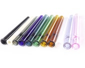 Tiny 9mm Colored One Hitters - Made to Order - 10 Colors - Chillum - Borosilicate Glass - Made in USA
