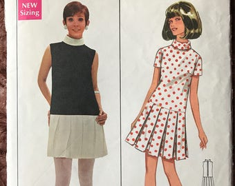 Butterick Designer Mary Quant Pattern # 4831 - Size 8, Bust 31.5