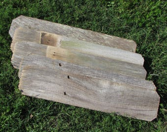 Sign Boards  1 Reclaimed Fence Board - 24 Inch Length - Weathered Wood Planks!