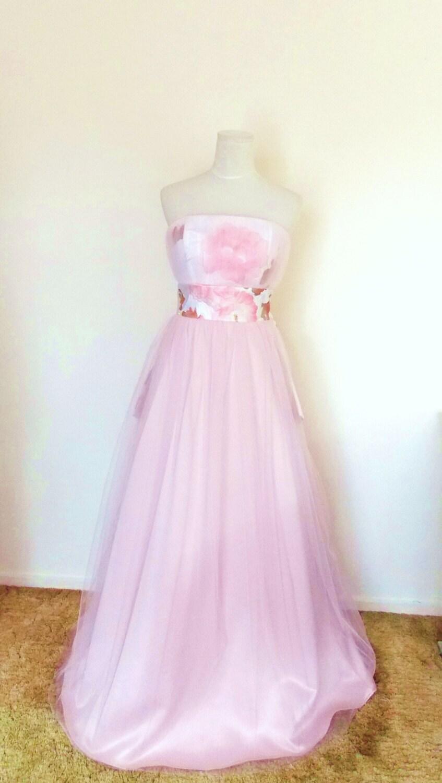 Zoom: Soft Pink Vintage Wedding Dresses At Reisefeber.org