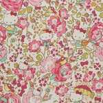 NEW - Hello kitty Liberty Art fabrics  printed in Japan - Felicite in pink