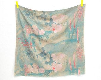 nani Iro - Komorebi - Color B -  brushed linen cotton -  printed in Japan