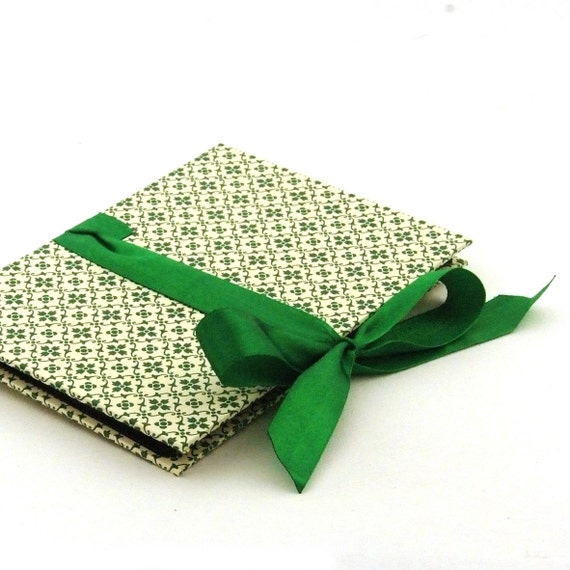 Zigzag- Photo- Book green graphic Starflower Accordion Book