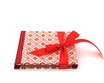 Double CD case / DVD folio with pocket  made to order -  Wedding photography packaging for two discs