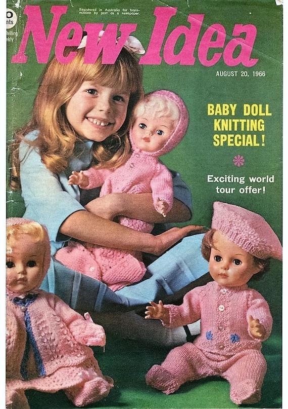 Dolls Knitting Patterns Booklet Full Layette Pram Set Etsy