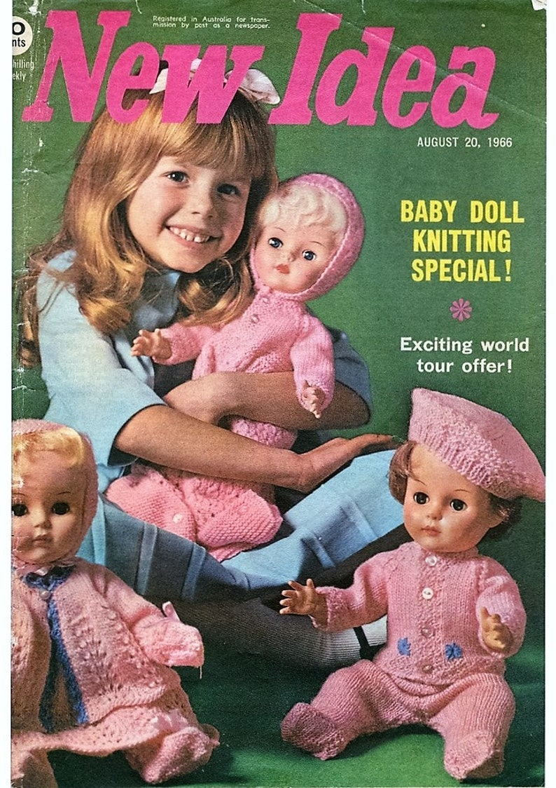 8c58db31b Dolls Knitting Patterns BOOKLET Full Layette Pram set