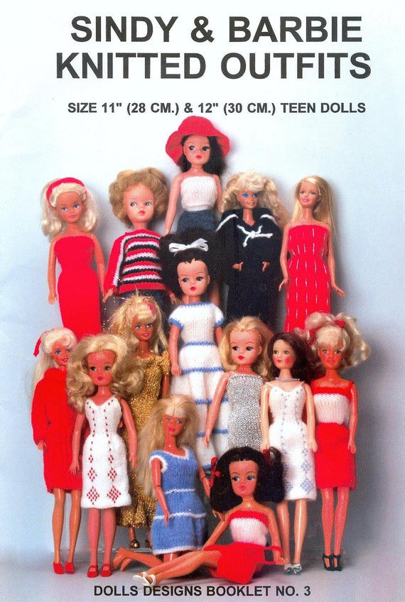 Download Doll Knitting Pattern Clothes Sindy