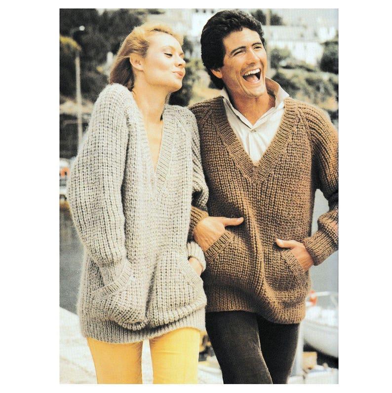 b2b4a21037ff Instant Download PDF Knitting Pattern Ladies or Mens SLOPPY