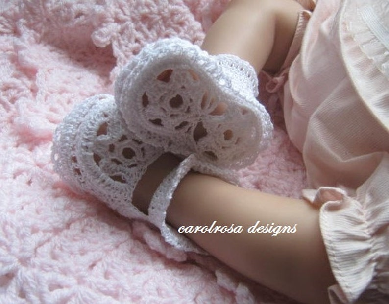 Crochet Pattern Cr58 Filo Uncinetto Battesimo Etsy