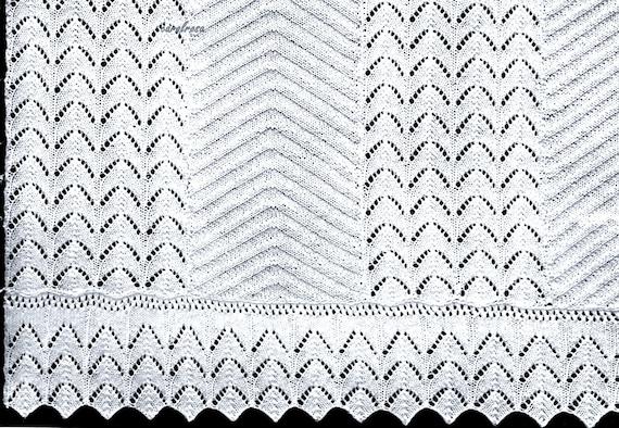 Tagesdecke Bettüberwurf Platten Decke Schal PDF | Etsy